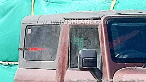 2021 Mahindra Thar Removable Hard Top Variant