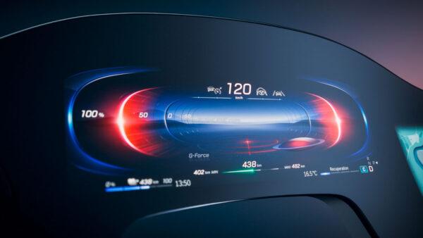 Mercedes Benz Hyperscreen