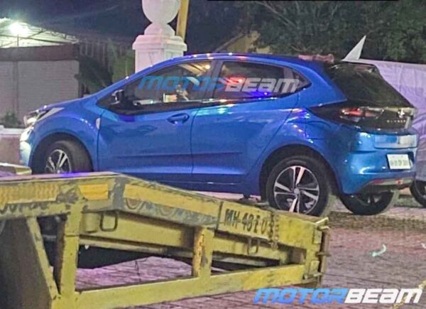 Tata Altroz Turbo Spied During TVC Shoot