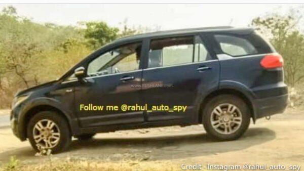 2021 Tata Hexa Spied