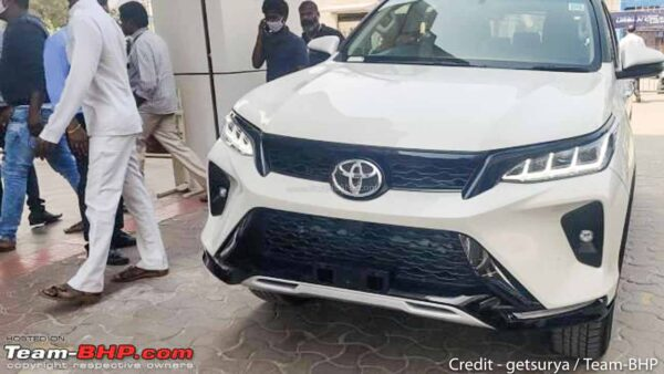 2021 Toyota Fortuner Legender