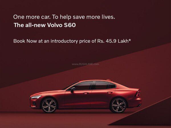 2021 Volvo S60 India Launch