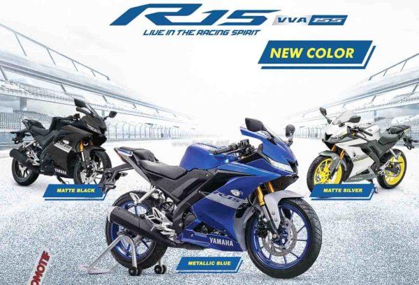 2021 Yamaha R15 New Colours
