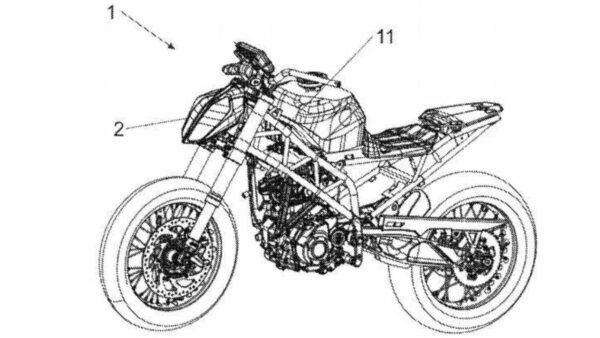 2022 KTM Duke 390 Leaked Patent Image - 1