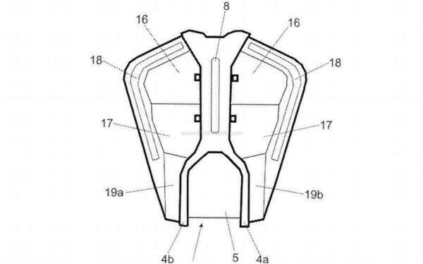 2022 KTM Duke 390 Leaked Patent Image - 2