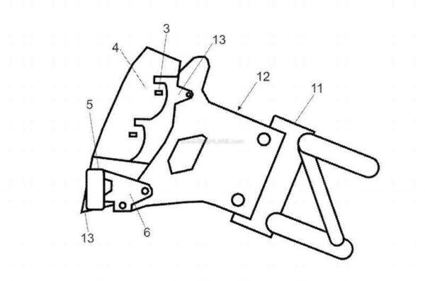 2022 KTM Duke 390 Leaked Patent Image - 3