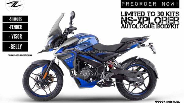 Bajaj Pulsar NS 200 Adventure Kit