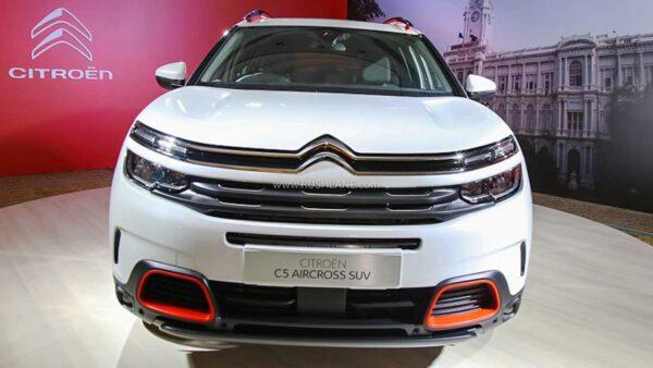 2021 Citroen C5 Aircross India Debut