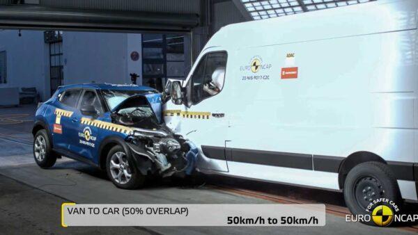 Car vs Van Crash Test - EURO NCAP