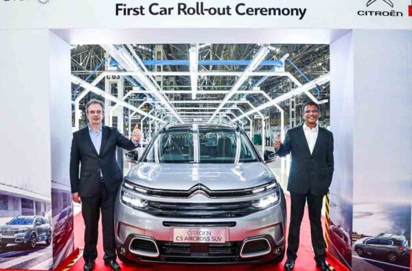Citroen C5 Aircross Production Starts in India