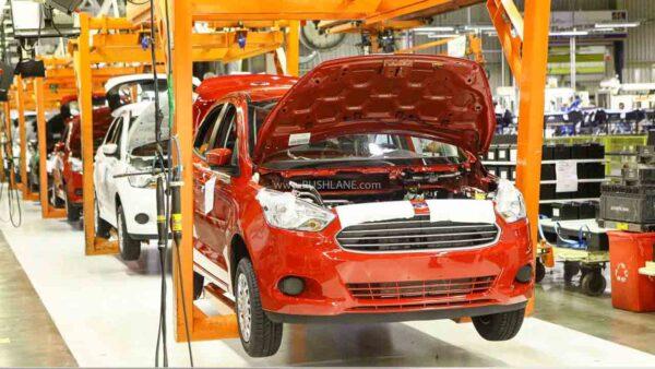Ford Ka (Figo) being produced at Brazil plant