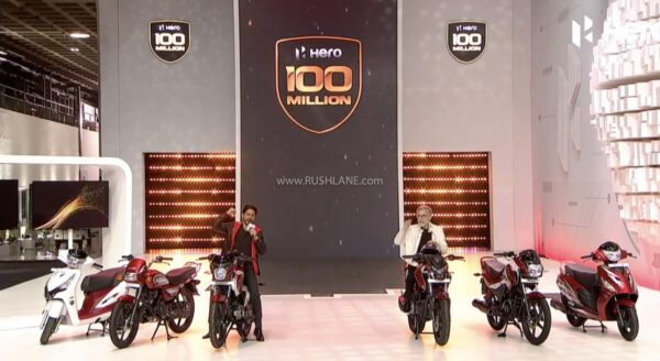 Hero MotoCorp 100 Millionth Rollout