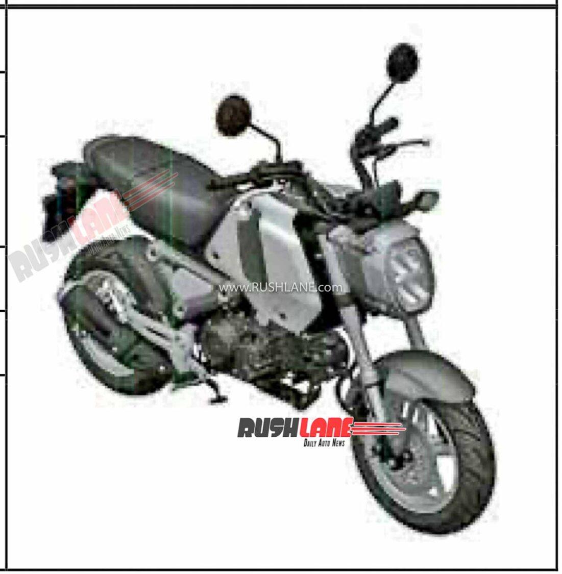 Honda Grom 125 Patented in India