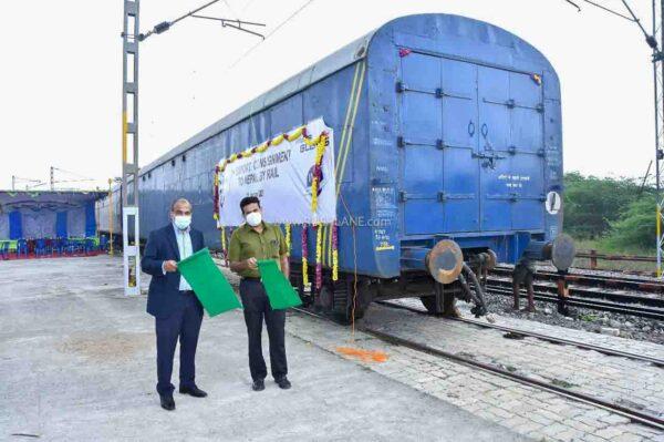 Hyundai India Exports 1st Batch To Nepal Via Train