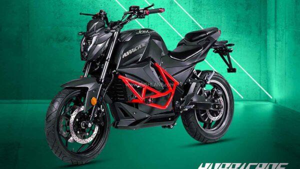 Joy E Bikes - Hurricane Electric Motorcycle