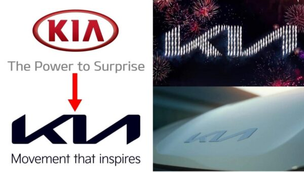 Old vs New Kia Logo