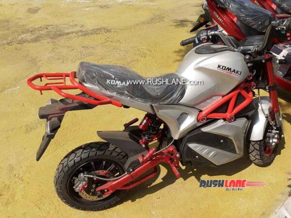 Komaki M5 Electric Motorcycle