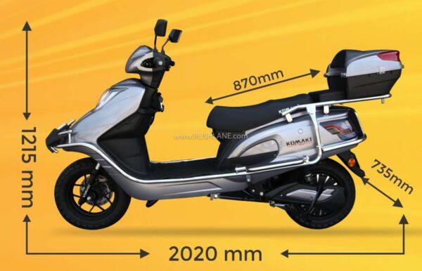 Komaki TN95 Electric Scooter