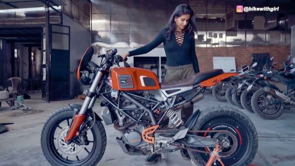 Customized KTM Duke 200