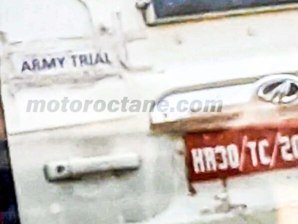 Mahindra Scorpio for Indian Army