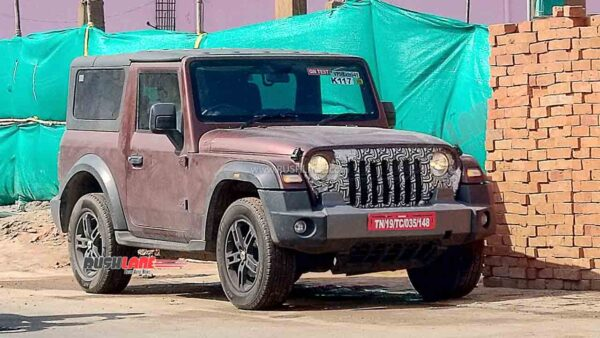 Mahindra Thar on Test