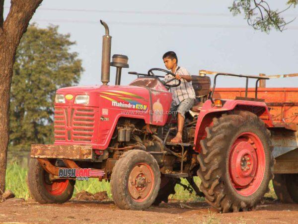 Mahindra Tractor Sales Dec 2020