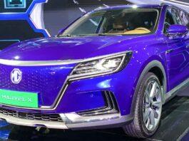MG Marvel X Electric Car