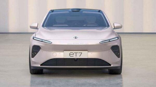 Nio ET7 Electric car