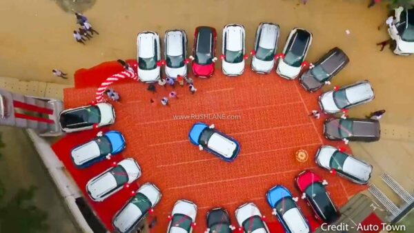 Nissan Magnite Bangalore dealer delivers 100 units 1 day