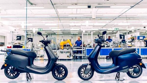 Ola electric scooter plant