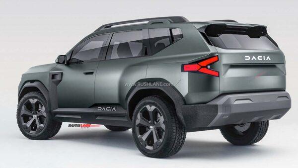 2021 Renault Dacia Bigster SUV Concept