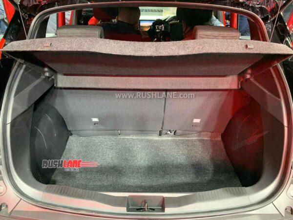 Renault Kiger boot space 405 liters