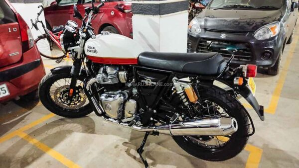 Royal Enfield 650 Interceptor with CEAT Tyres