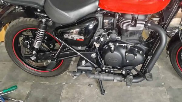 Royal Enfield Meteor 350 Cat Con Removed