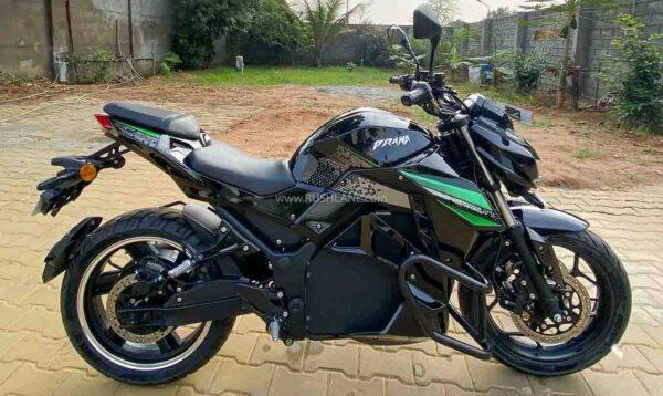SVM Prana Electric Motorcycle