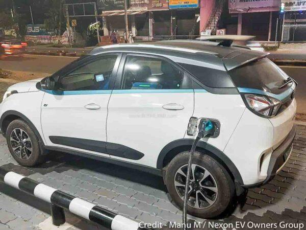 Tata Nexon Electric Fast Charging