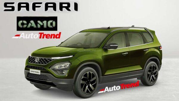 Tata Safari Camo Edition
