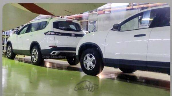 Tata Safari White Colour