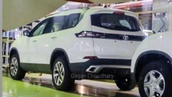 New Tata Safari White