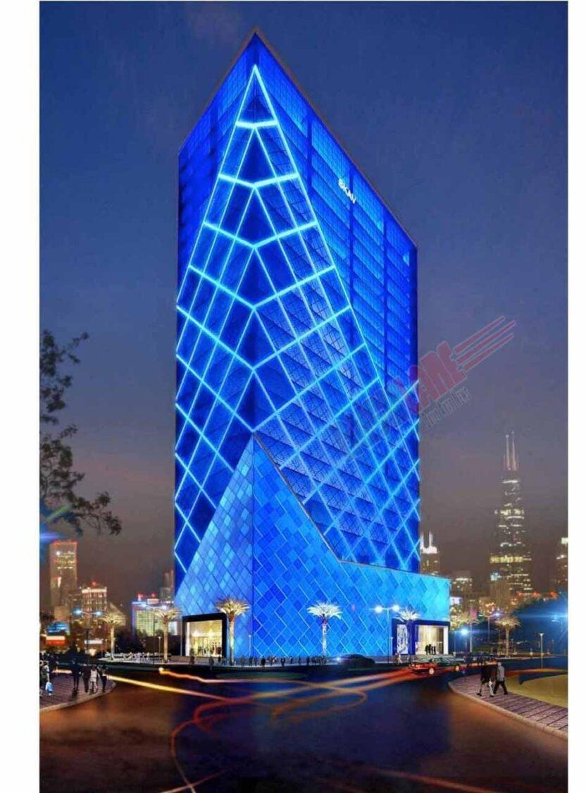 Tesla India HQ - Expected Venue
