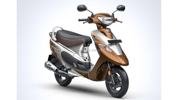 TVS Scooty Pep Plus First Love Edition