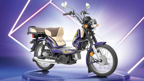 TVS XL 100 Winner Edition