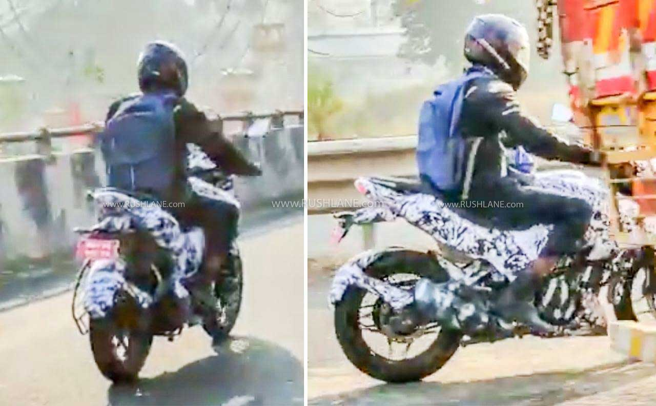 New Bajaj Pulsar 160 NS Spied Testing - Launch Likely In 2021 - RushLane