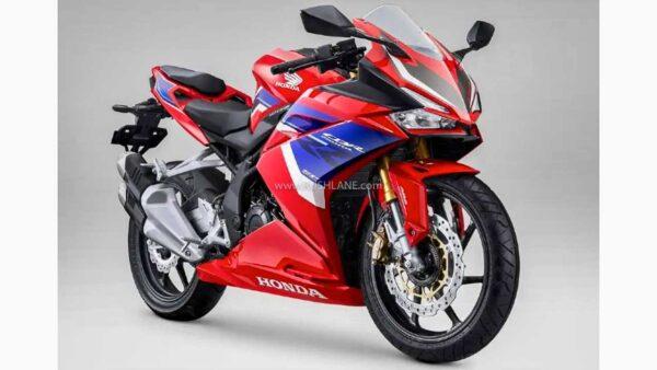 2021 Honda CBR250RR With HRC livery