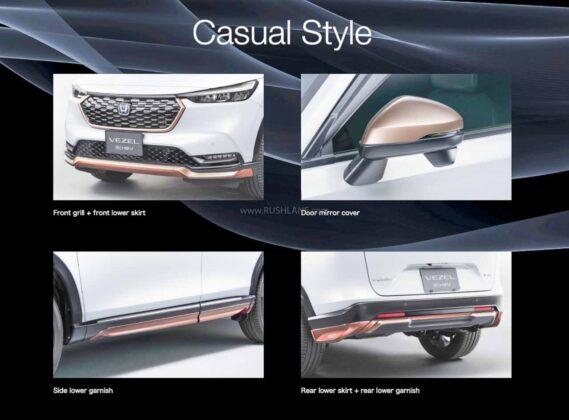 2021 Honda Vezel Accessory Package