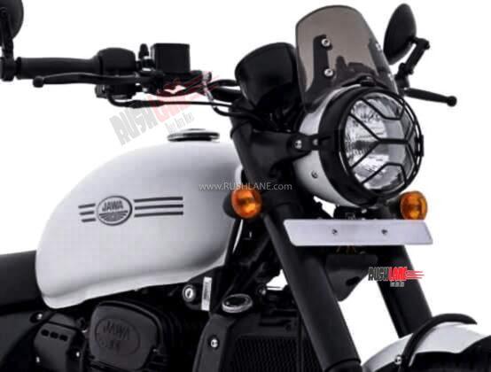 2021 Jawa 42 White