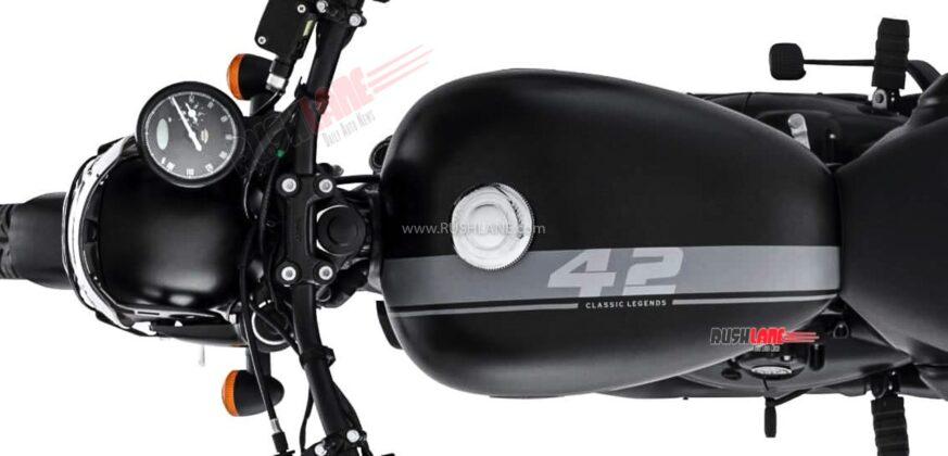 2021 Jawa 42 Black decals