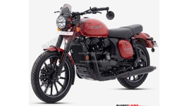 2021 Jawa 42 Matte Red