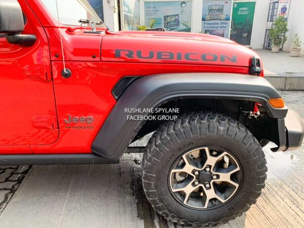 2021 Jeep Wrangler Made in India