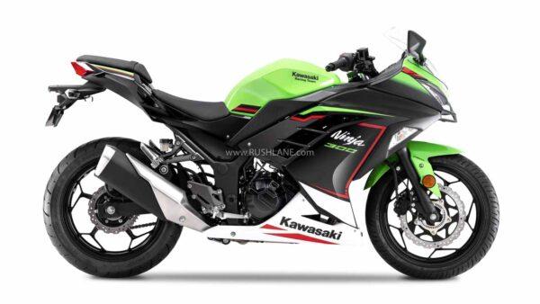 2021 Kawasaki Ninja 300 BS6 - New Colour